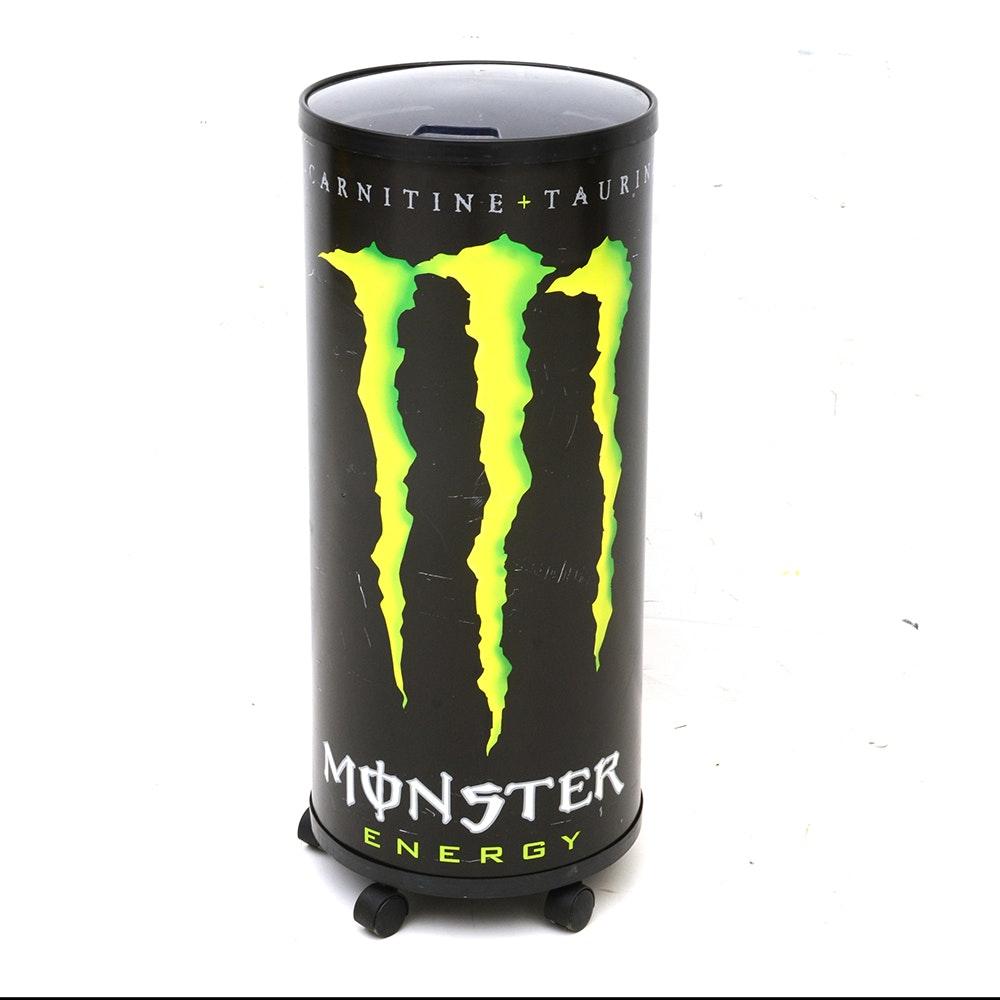 Monster energy cooler