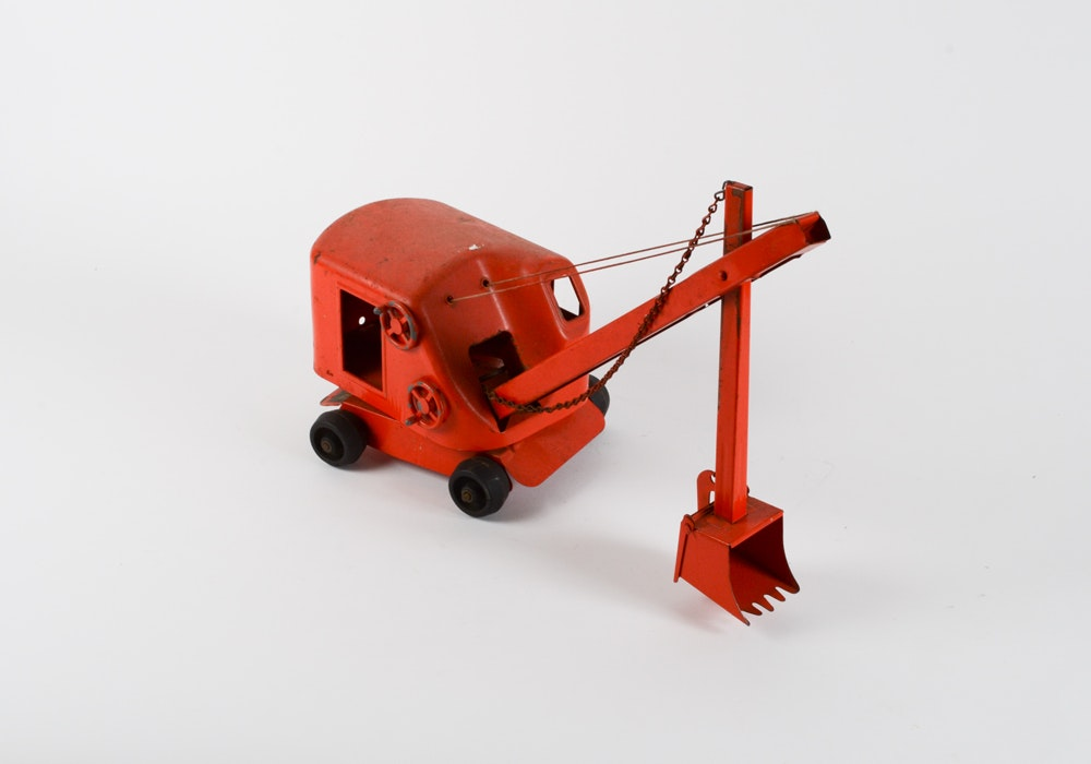Structo Toy Crane