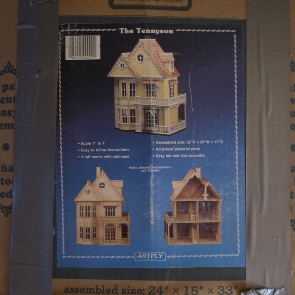 Artply The Tennyson Model Doll House Ebth