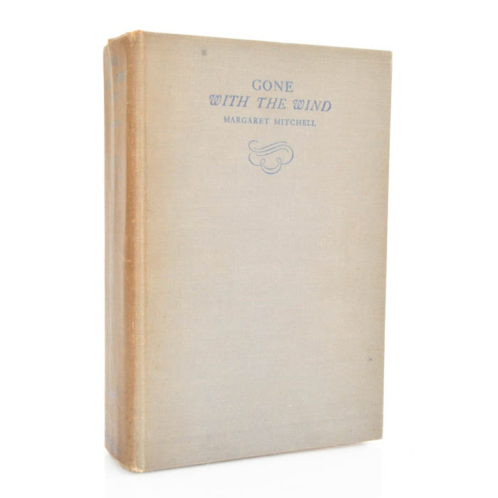 """May 1936 First Edition First Printing of  """"Gone with the Wind"""""""