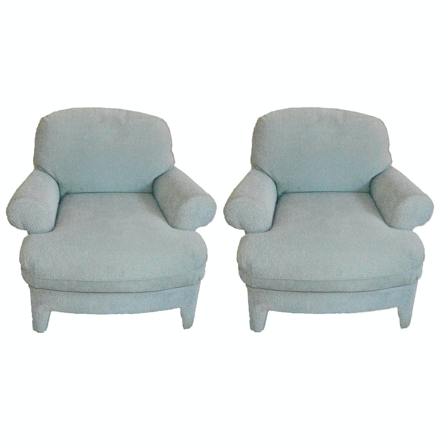 Pair of Bernhardt Furniture Co. Upholstered Chairs