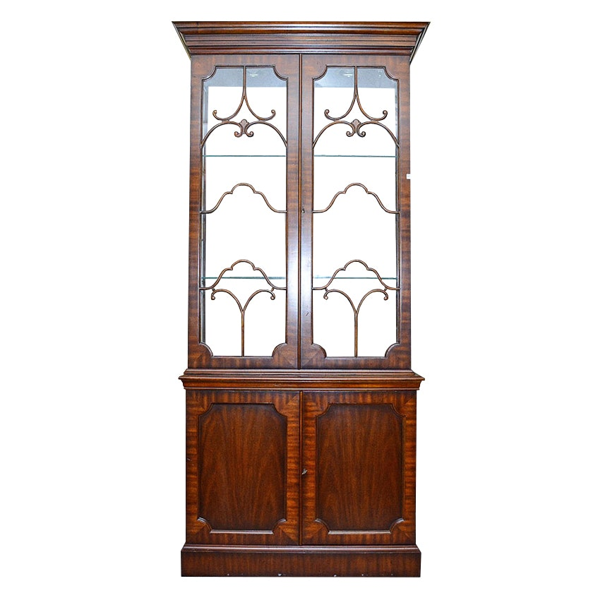 Mahogany China Cabinet by Maitland-Smith