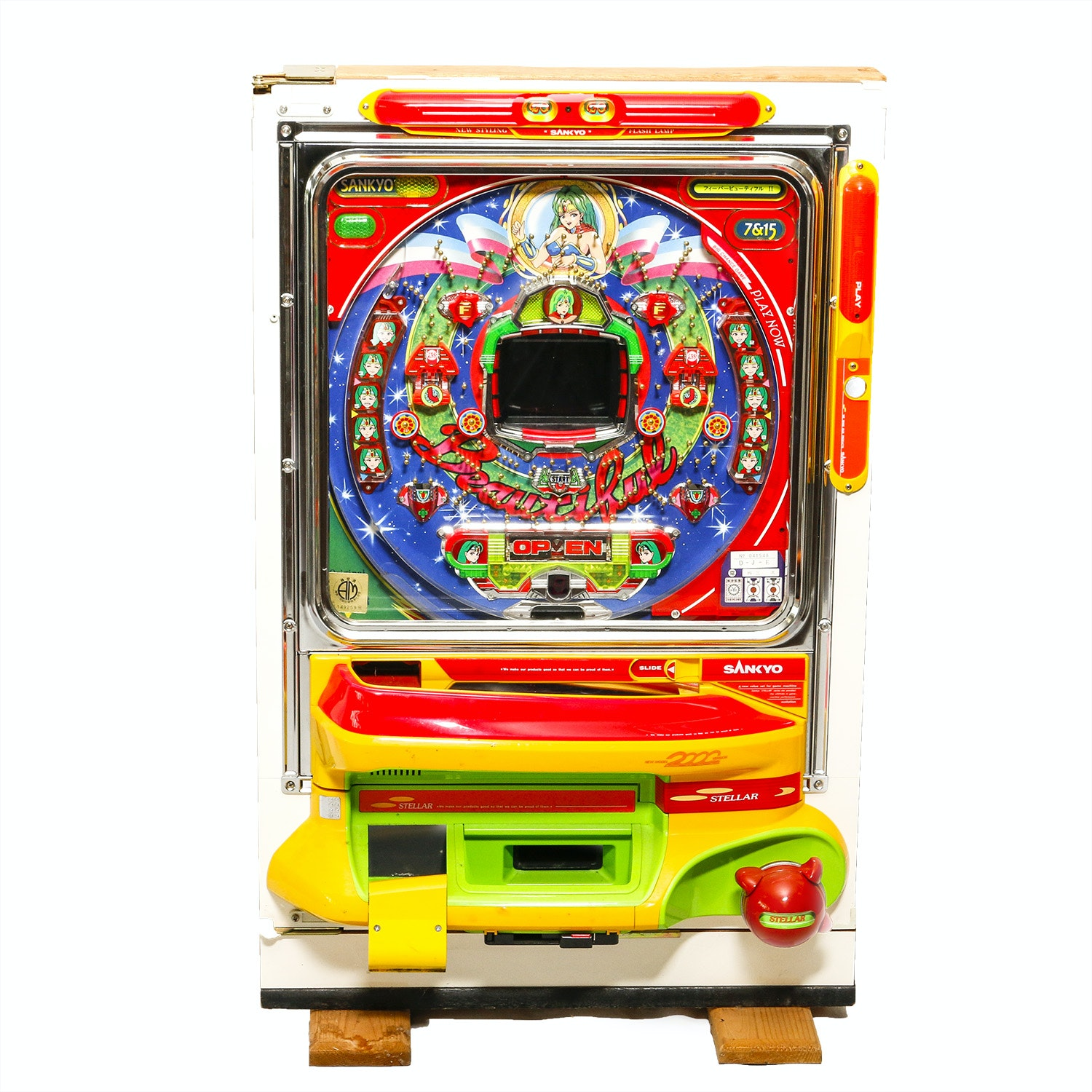 japanese pinball machine