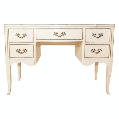 French Provincial Writing Desk - Vintage Desks, Antique Desks And Used Desks Auction In Charlotte, NC