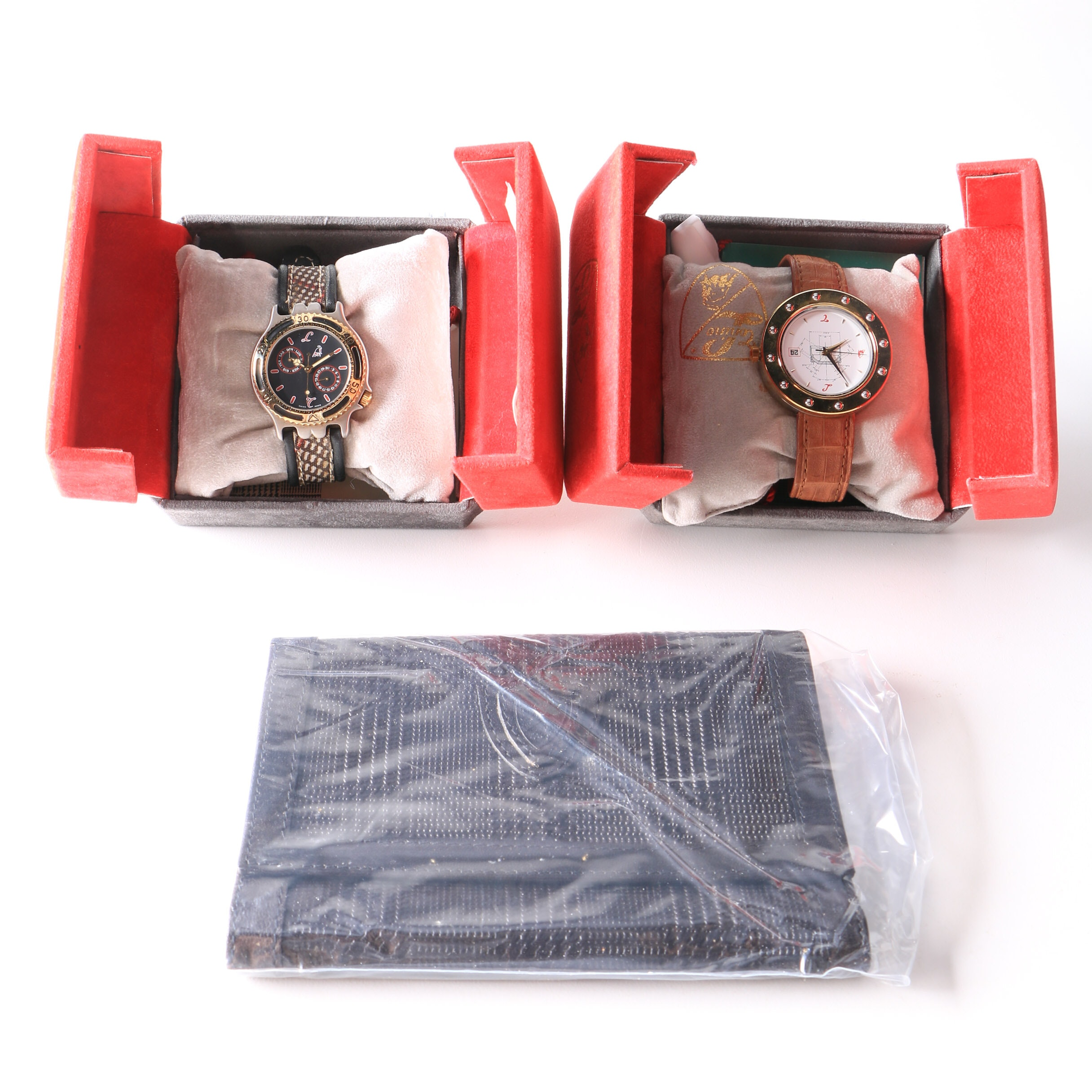 Tonino Lamborghini Wristwatches and Wallet