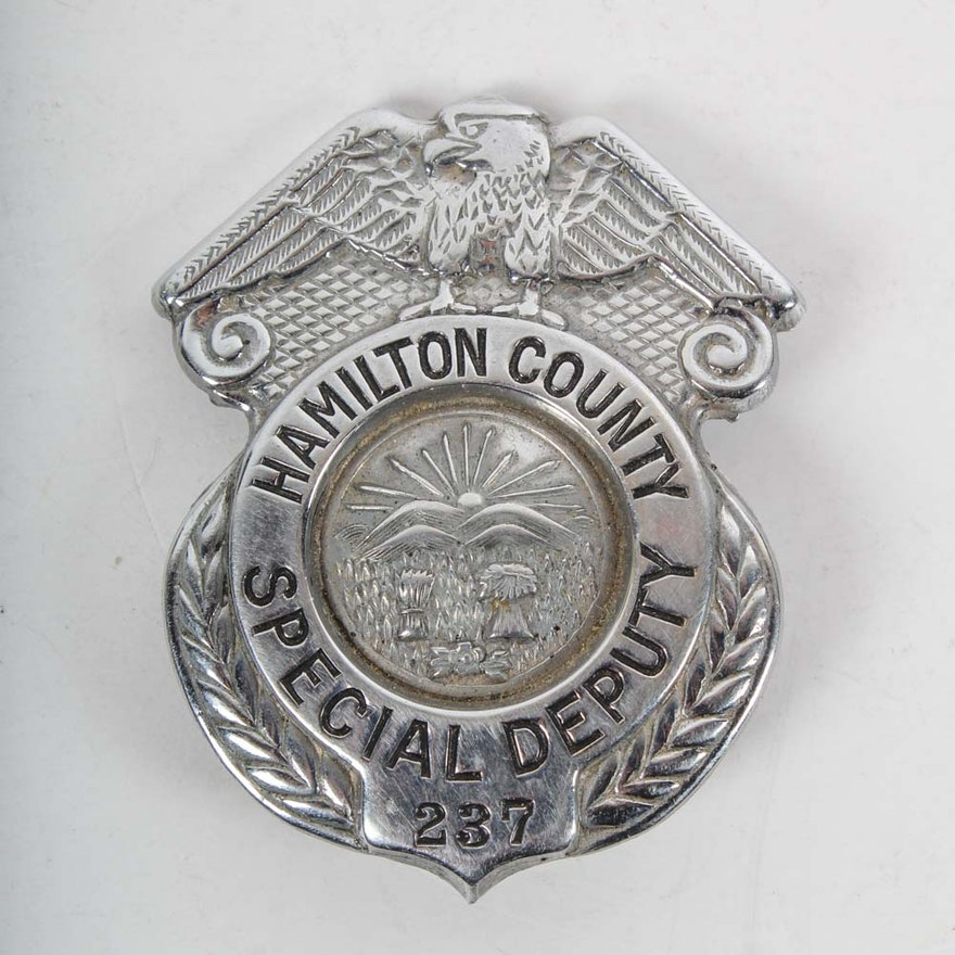 Deputy Police Badge by Wright