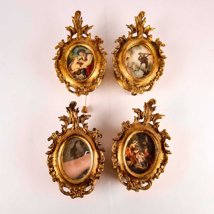 Collection of Hanging Reuge Music Boxes