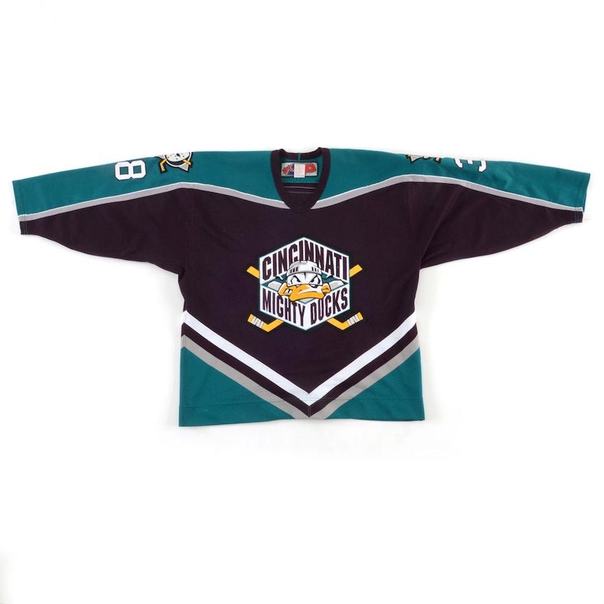 4262259ca Chris Thompson Mighty Ducks Jersey   EBTH
