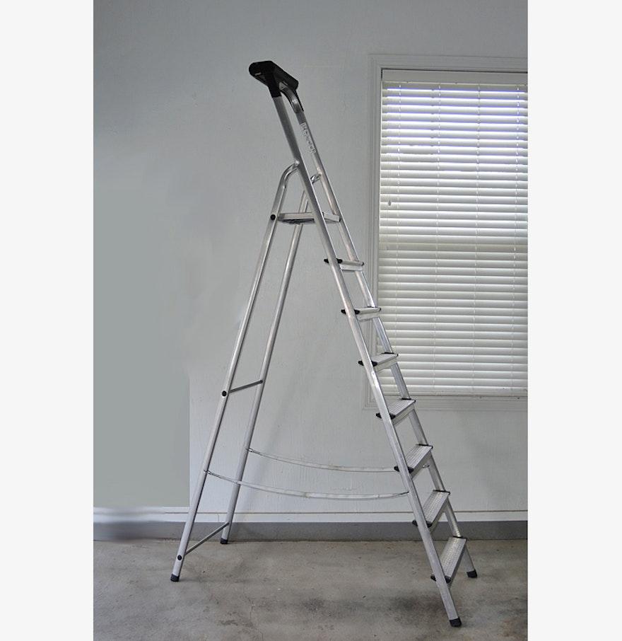 Leifheit German Aluminum Step Ladder Aluminium Ladder