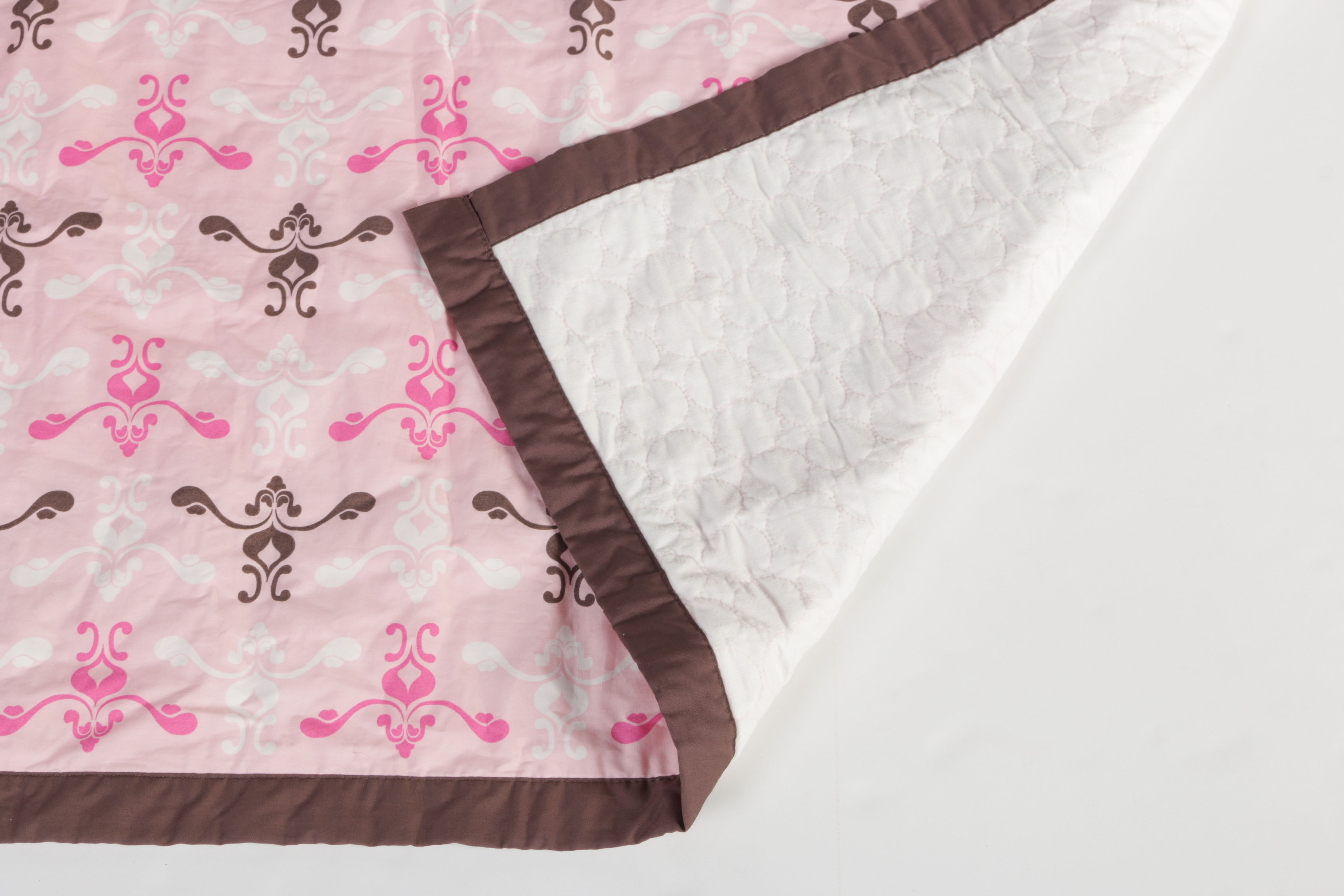 Jj Cole Pink And Brown Bedding Ensemble Ebth