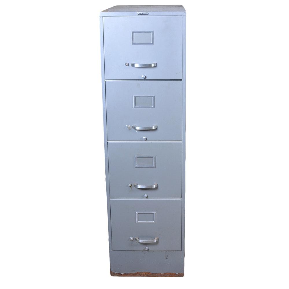 Art Metal Inc 4 Drawer Filing Cabinet ...