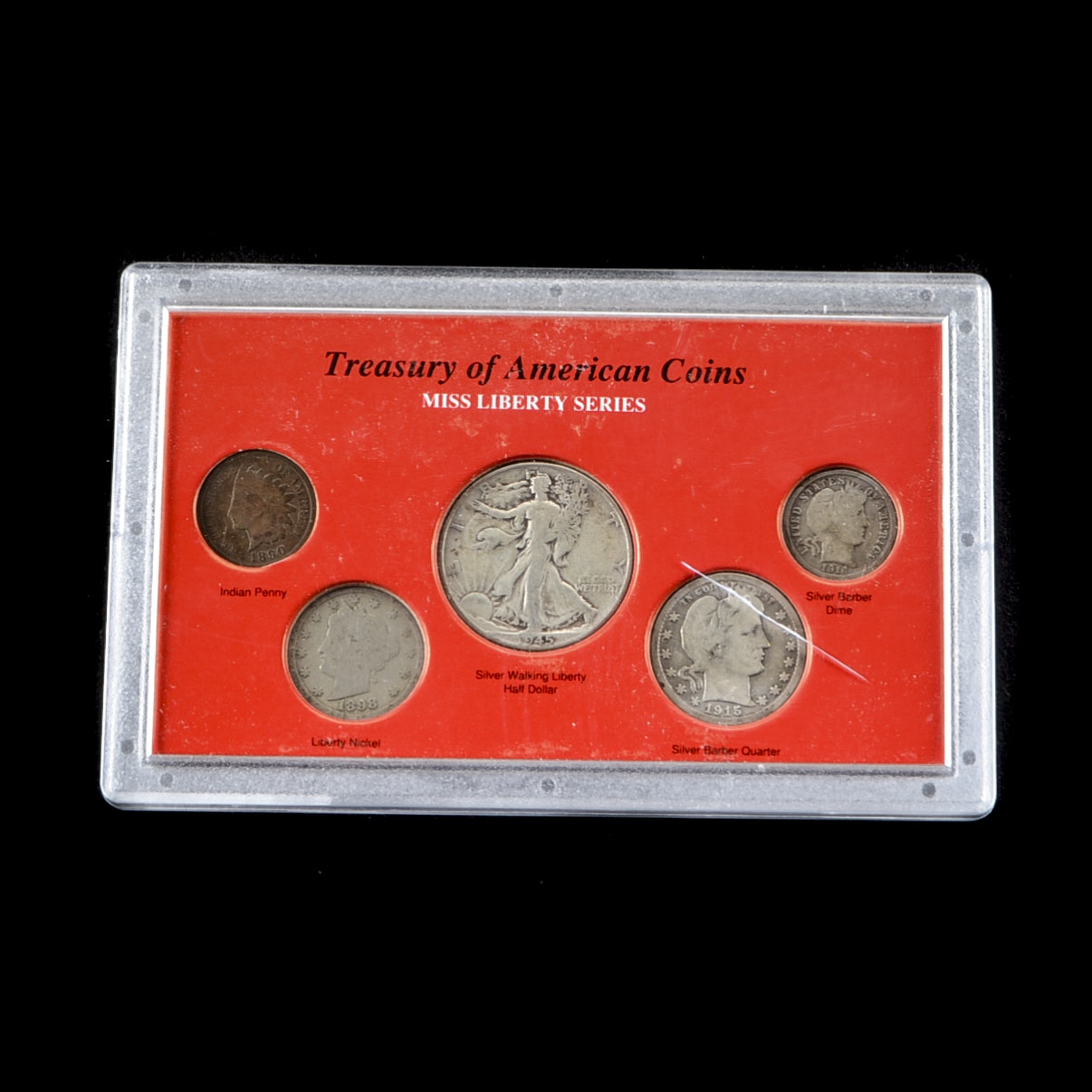 Miss Liberty Series Coin Set