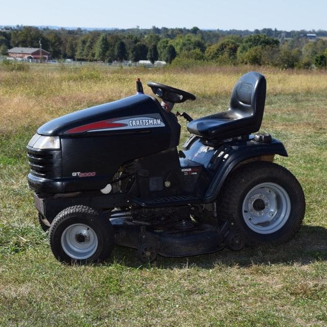 Craftsman GT5000 Riding Mower with Pro 25 HP Kohler Engine