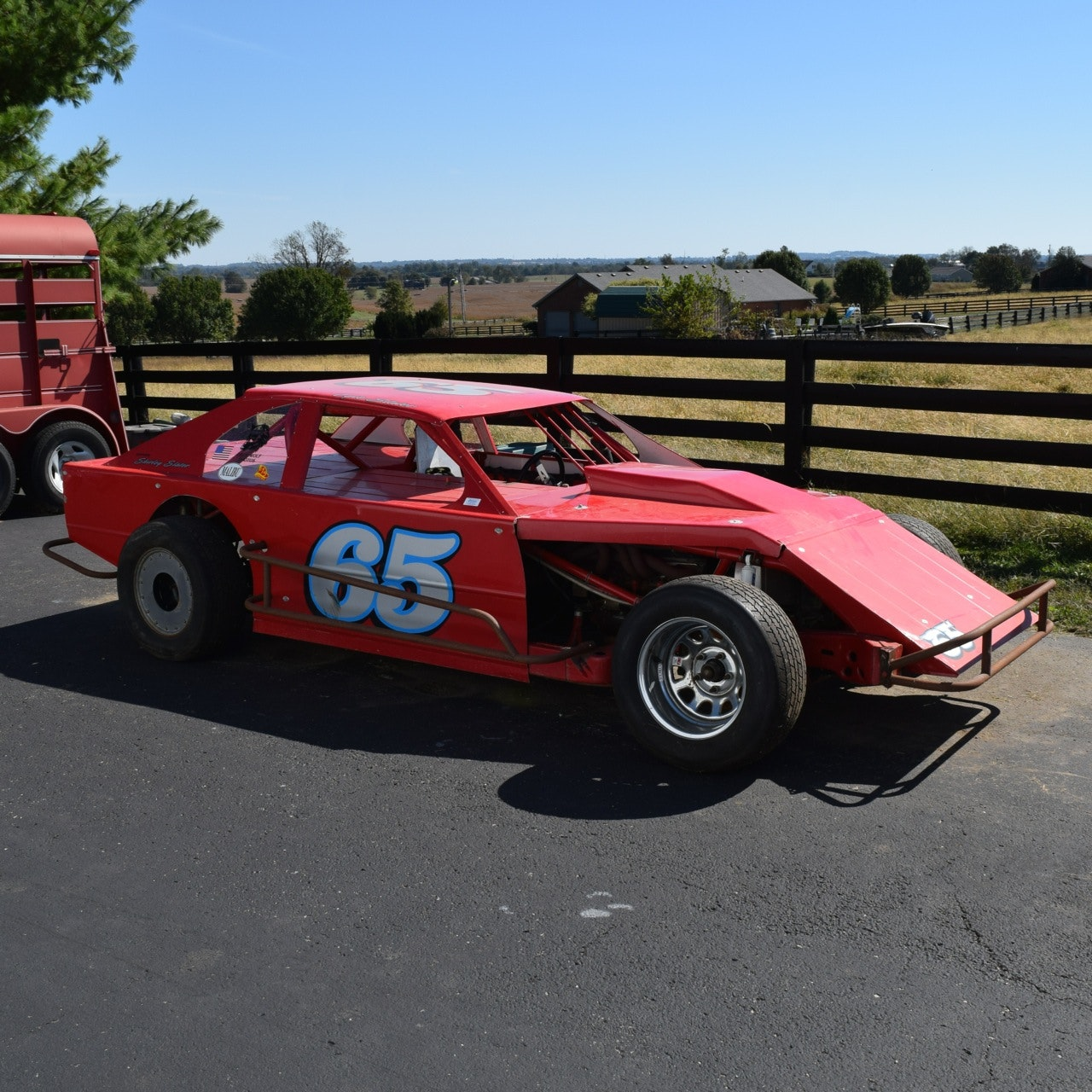 IMCA Racing Modified Race Car