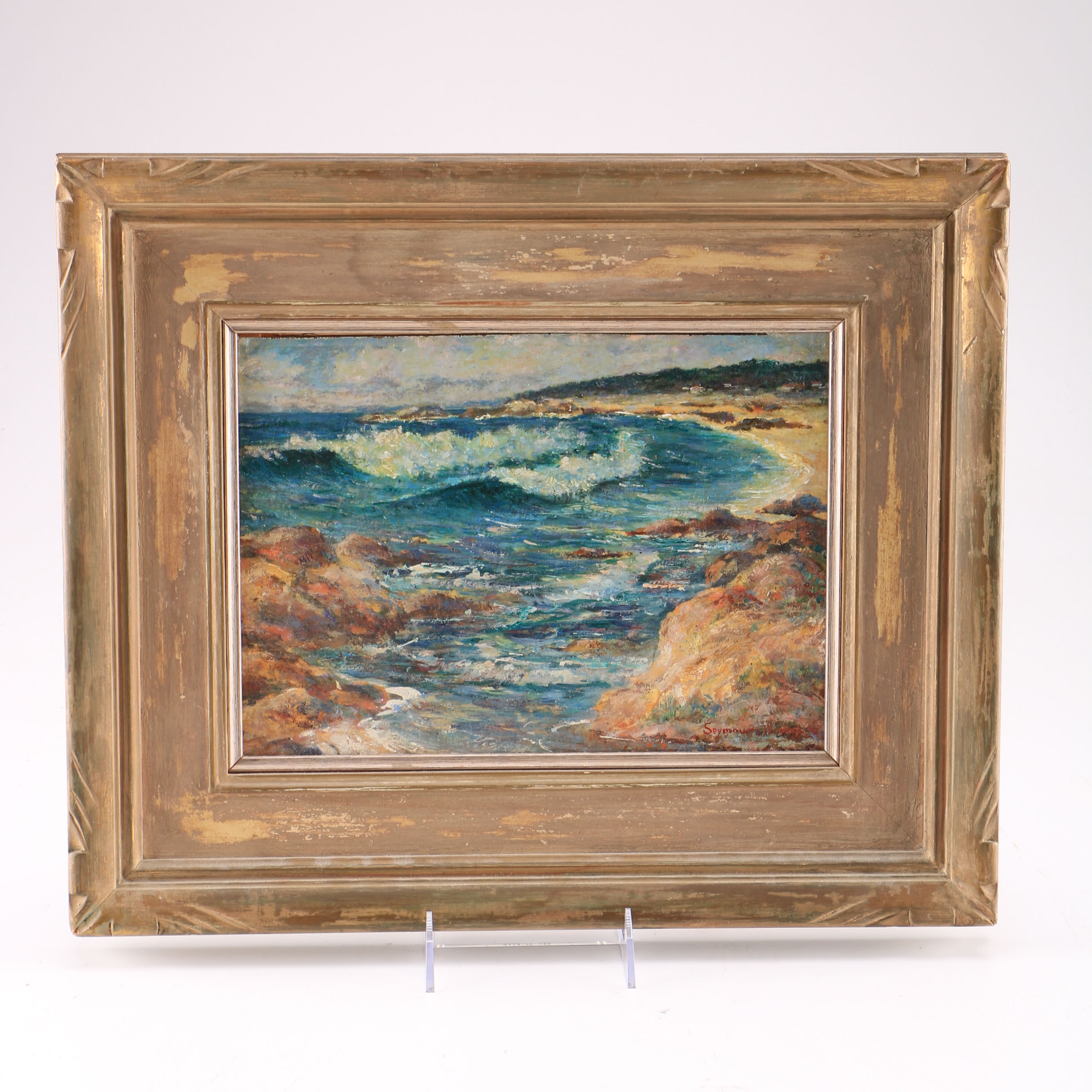 Original Stephen Seymour Thomas Seascape Oil Painting
