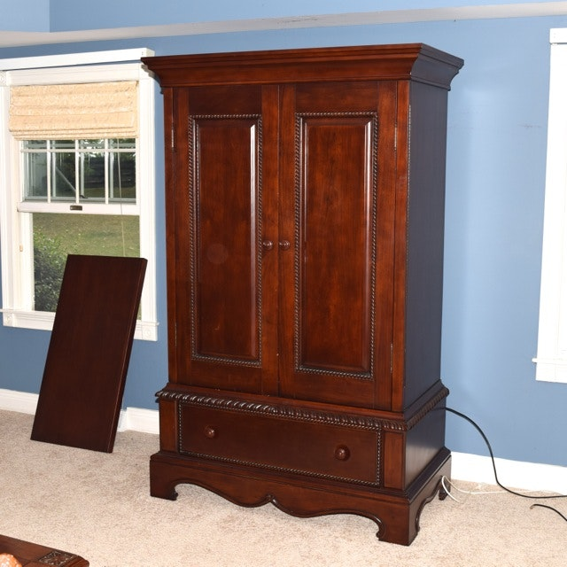 Dick Idol For Klaussner Mahogany Armoire ...