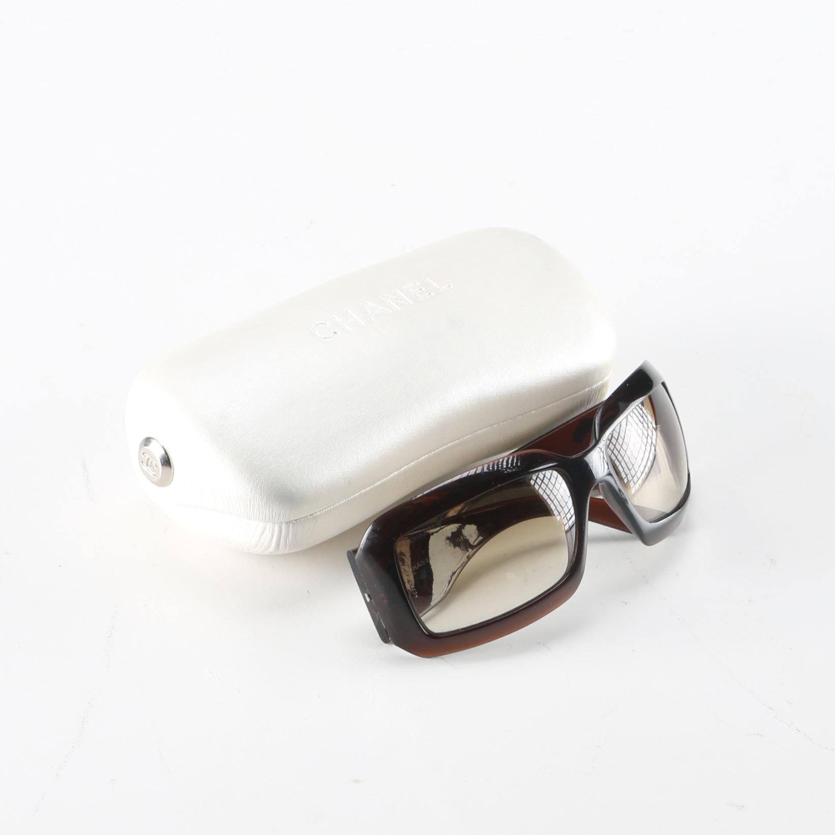 Chanel Brown Framed Sunglasses
