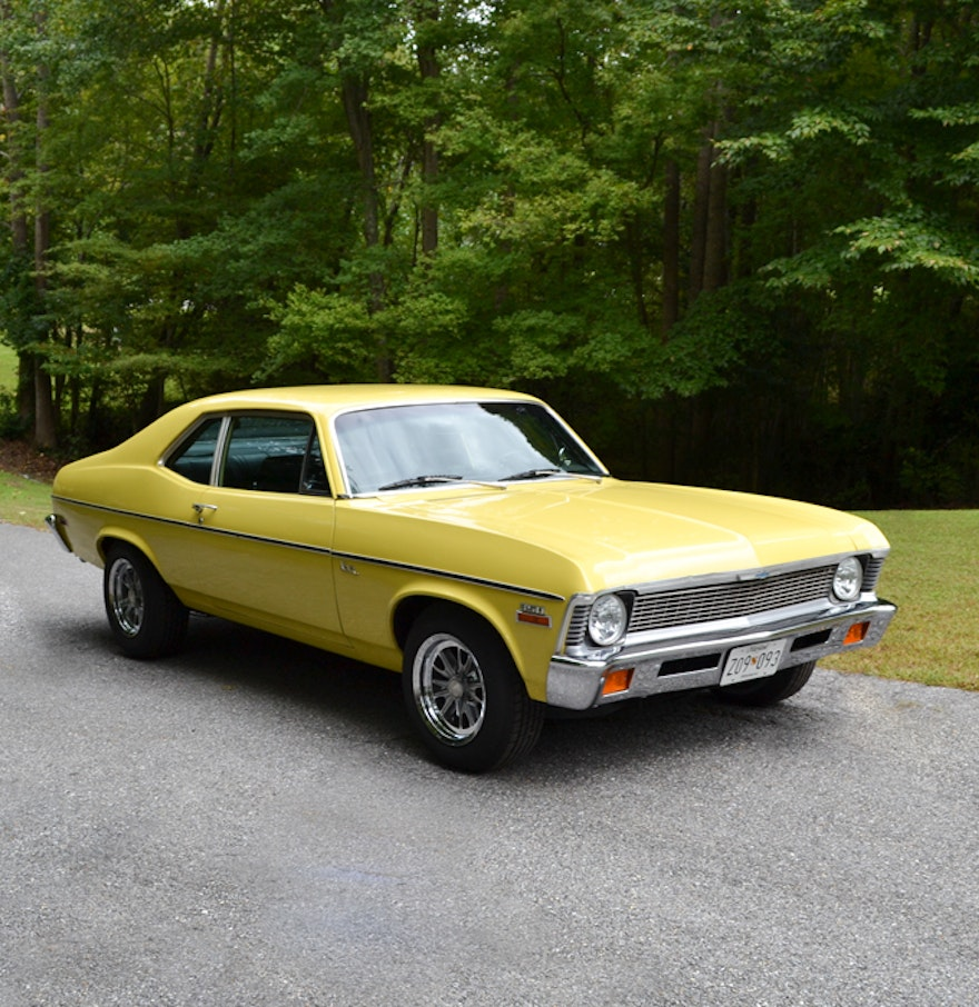 1972 Chevy Nova 2-Door Car : EBTH