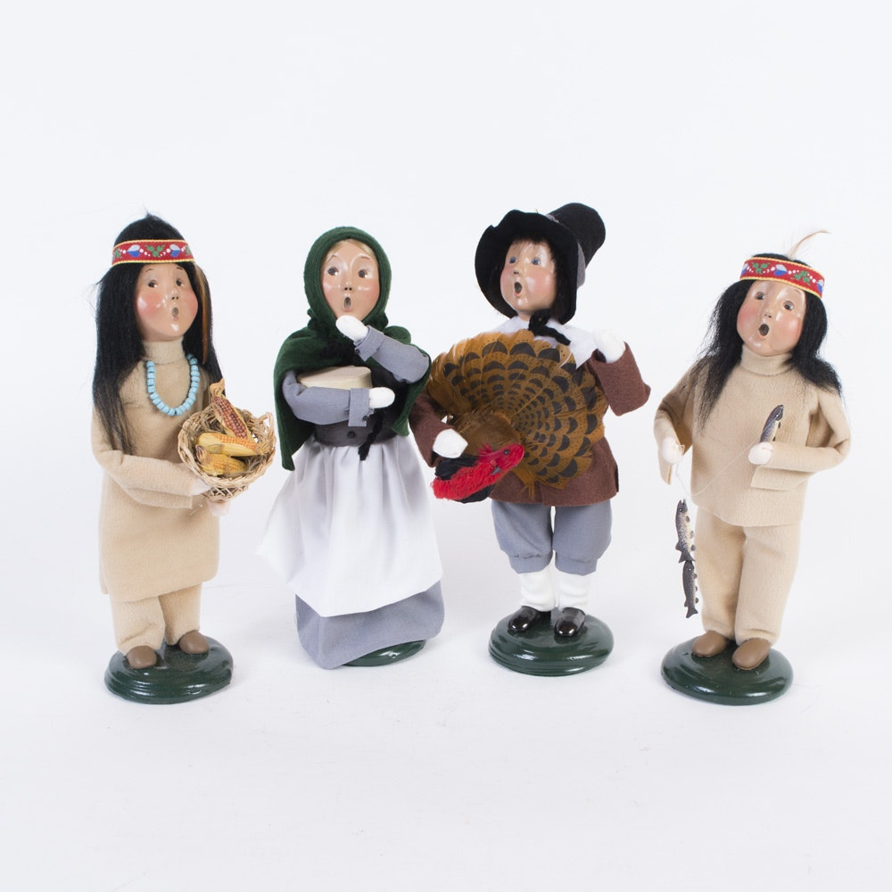 62 Best Decorating With Byers Choice Carolers Images On: Byers' Choice Thanksgiving Carolers : EBTH