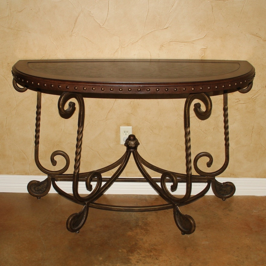 Miraculous Signature Design By Ashley Rafferty Crescent Brown Sofa Table Best Image Libraries Weasiibadanjobscom