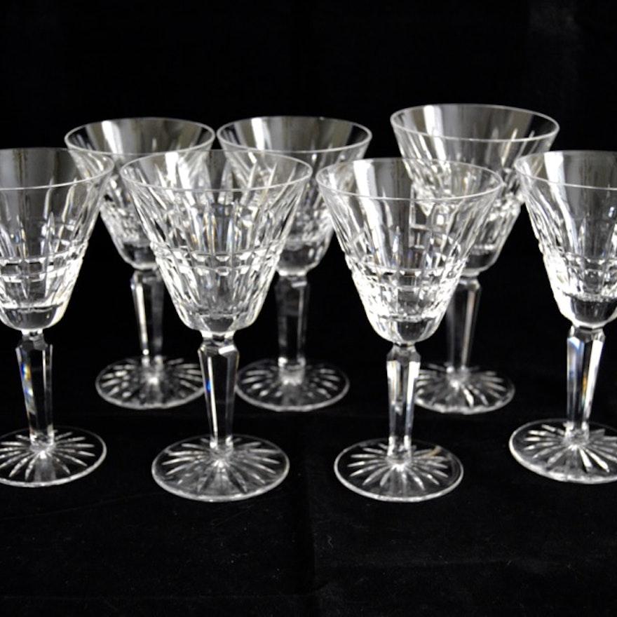 "Waterford Crystal ""Lismore Diamond Essence"" Wine Glasses"