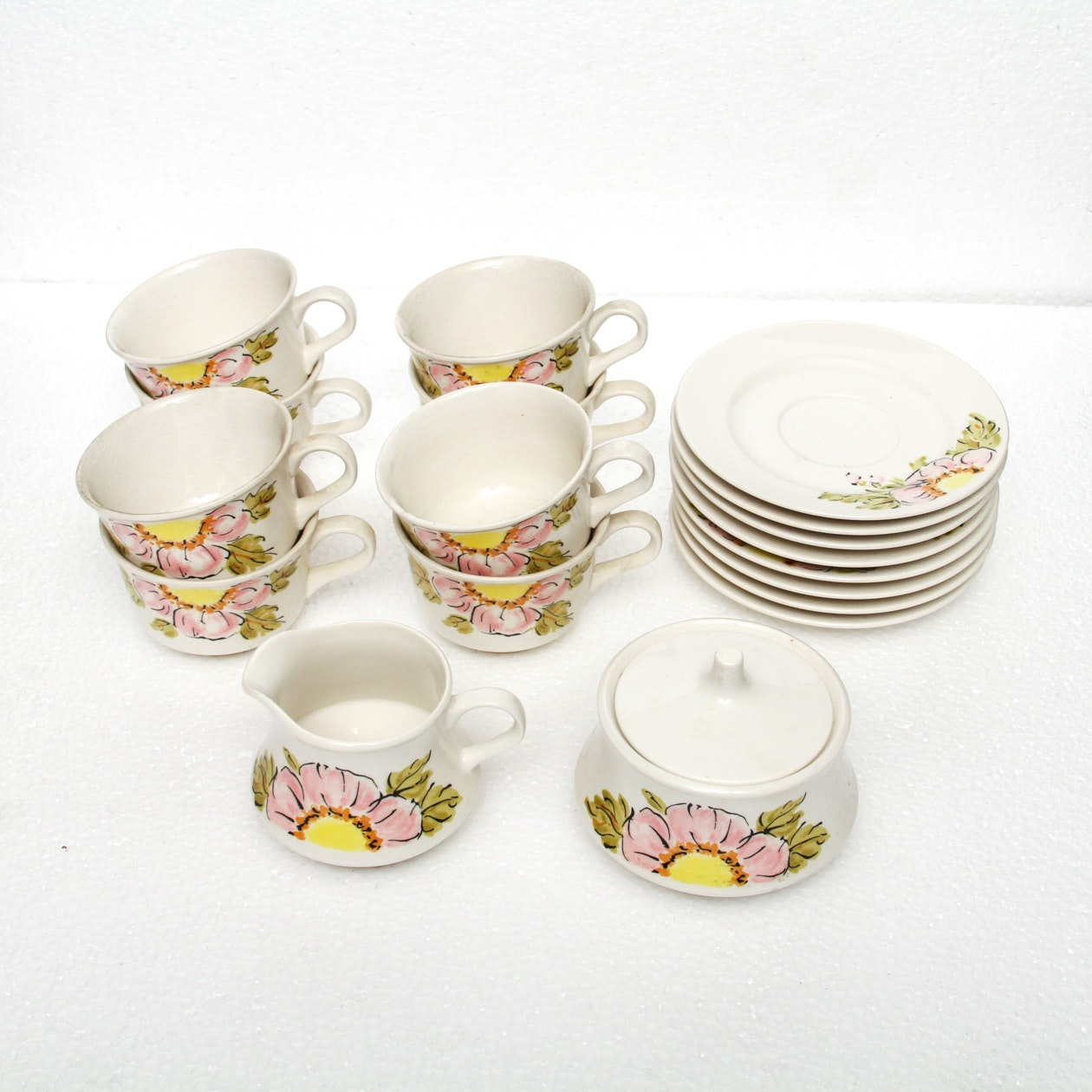 Vintage Nikko Ironstone Foremost Japan Tea Set ... & Vintage Nikko Ironstone Foremost Japan Tea Set : EBTH