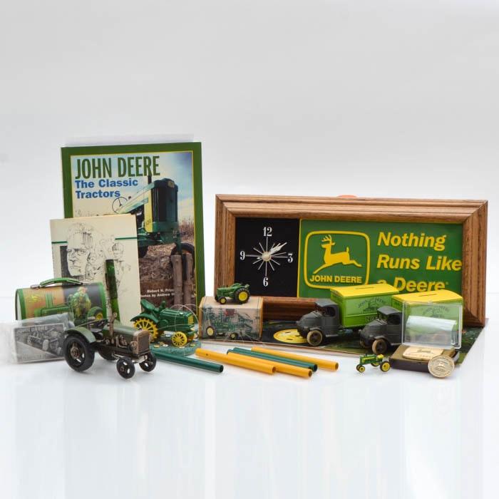 """Collection of """"John Deere"""" Advertising Paraphernalia"""