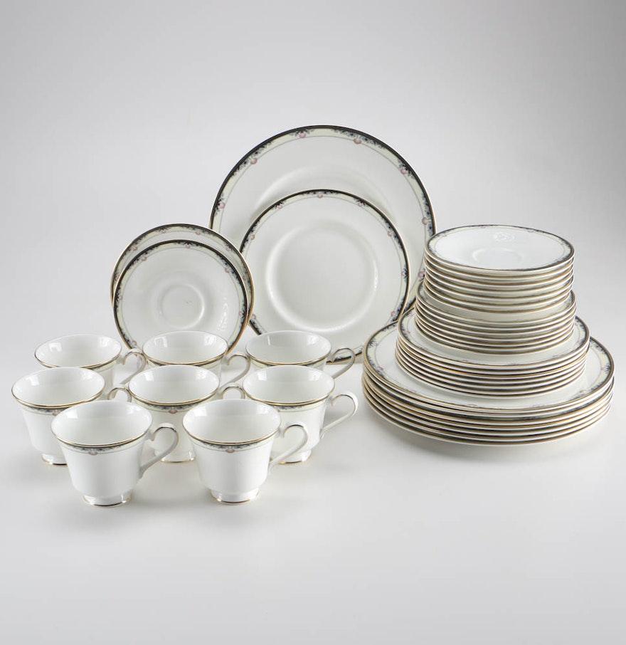 English Fine Bone China Dinnerware Set EBTH