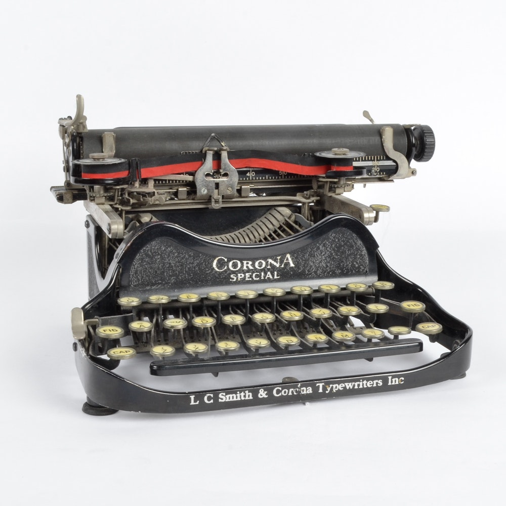 Corona Special Typewriter