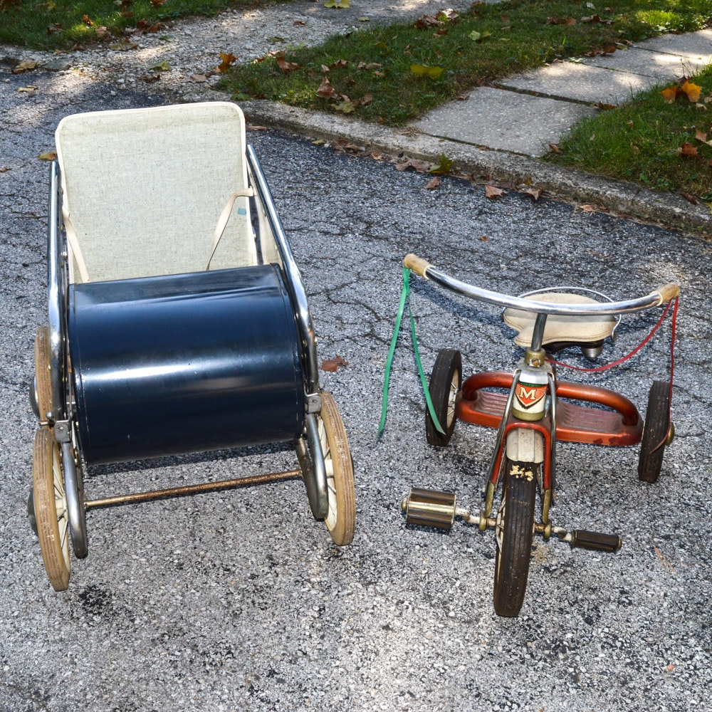 Pair of Children's Vintage Transports