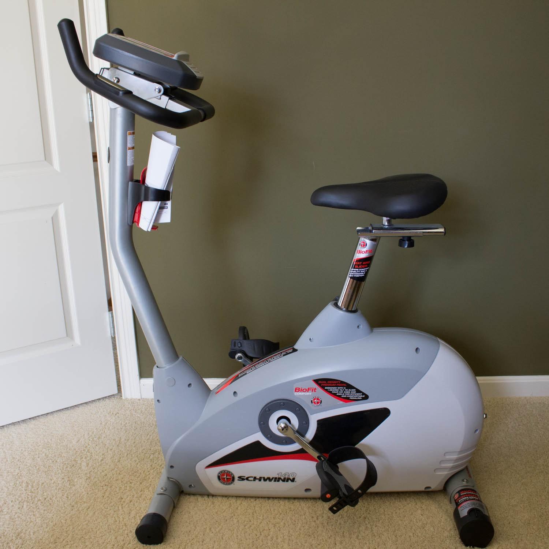 schwinn 140 upright exercise bike ebth rh ebth com Schwinn Recumbent Exercise Bike Manual Schwinn 140 Stationary Bike