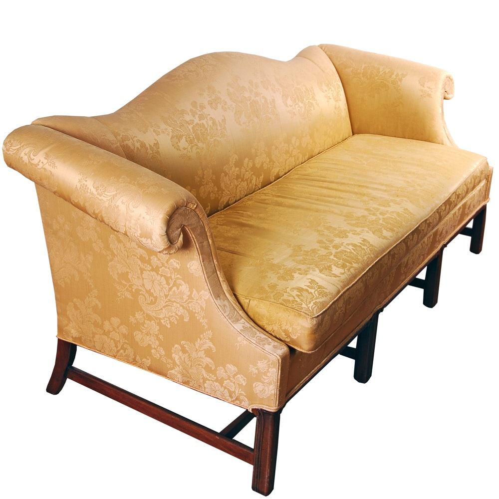Perfect Bagby Furniture Yellow Upholstered Sofa ...