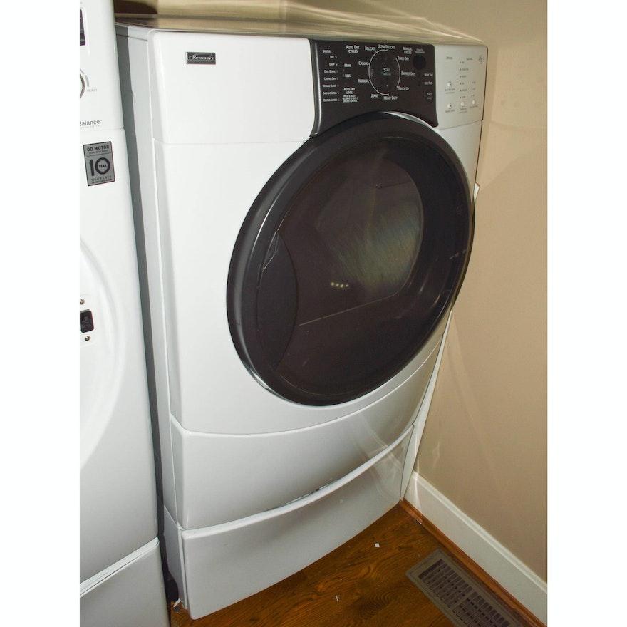 Kenmore Elite HE3 Dryer and Pedestal : EBTH