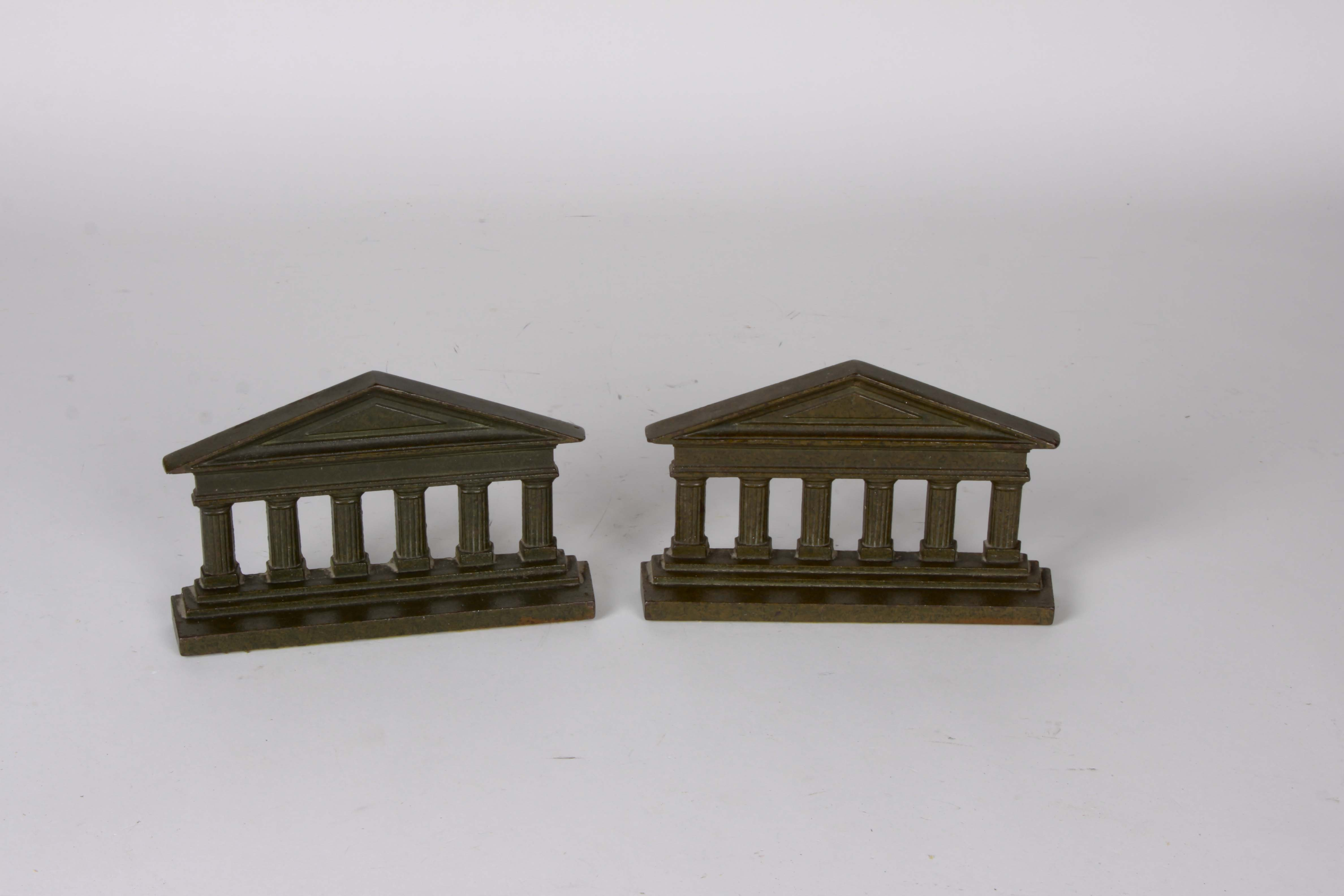Greek Temple Column Bookends by Judd Manufacturing