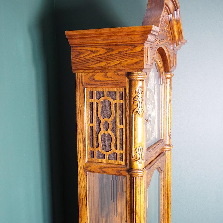 Sligh Tempus Fugit Grandfather Clock Ebth
