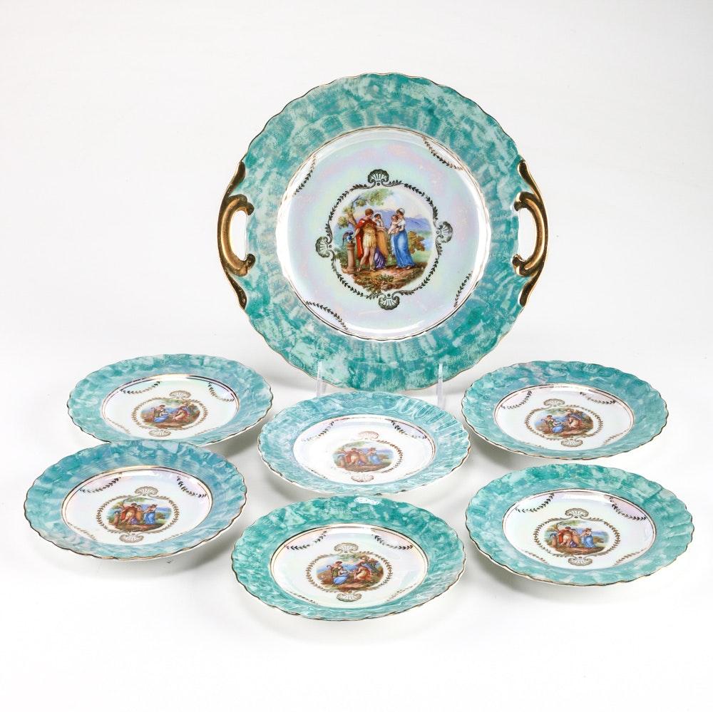 Schaller Bavaria China Plates
