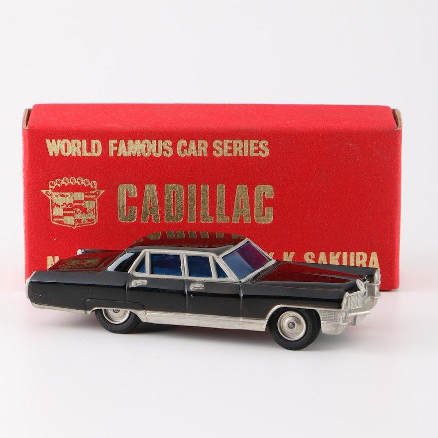1960s Cadillac Fleetwood Die-Cast Replica From K.K. Sakura