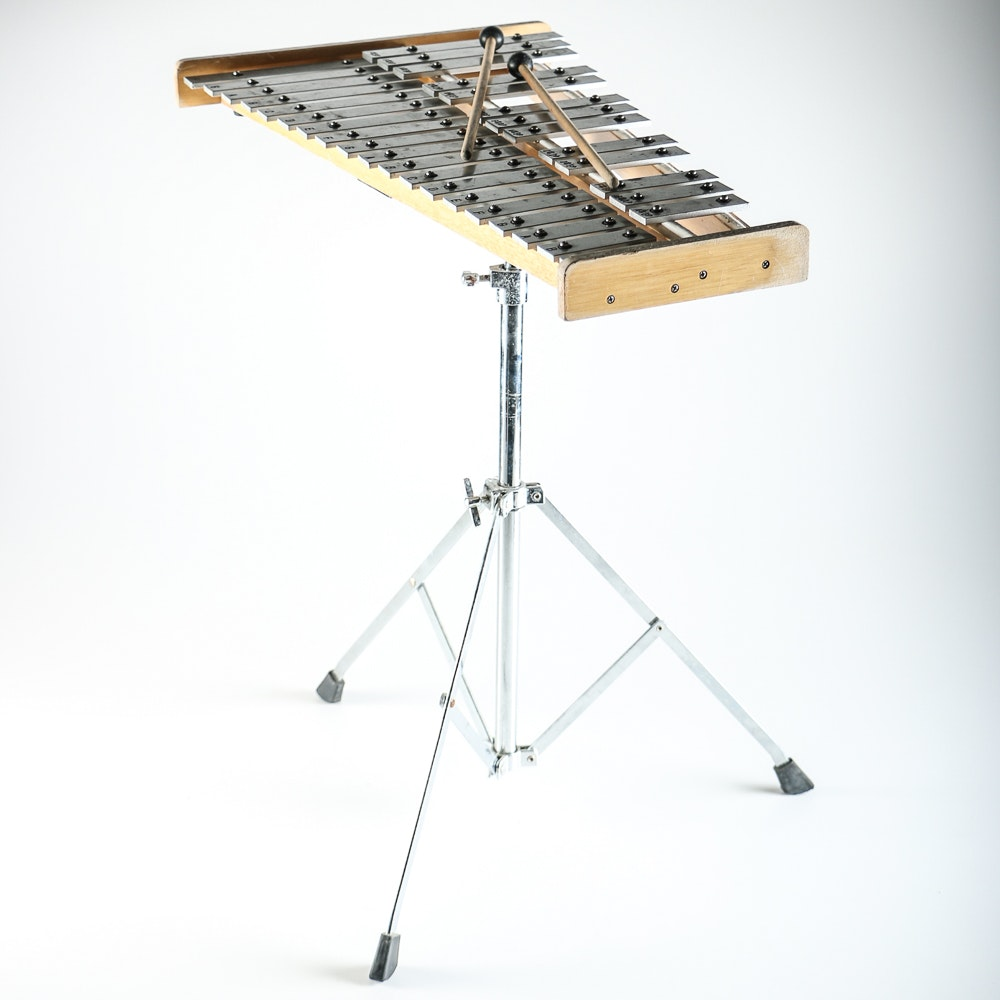 Xylophone With Mallets, Stand and Case