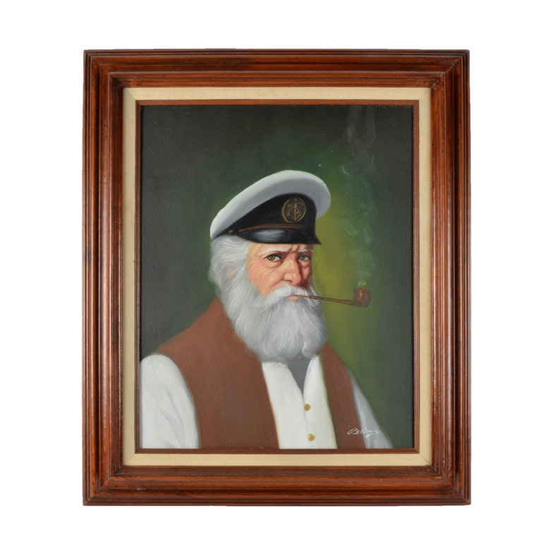 Bellamy Sea Captain Original Acyrlic on Canvas