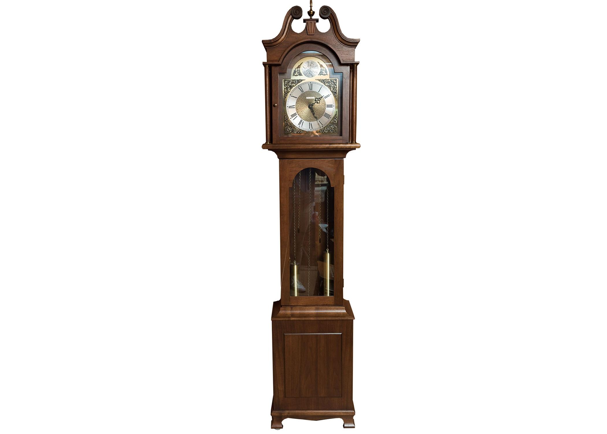 Seth Thomas Federal Style Grandfather Tall Clock : EBTH