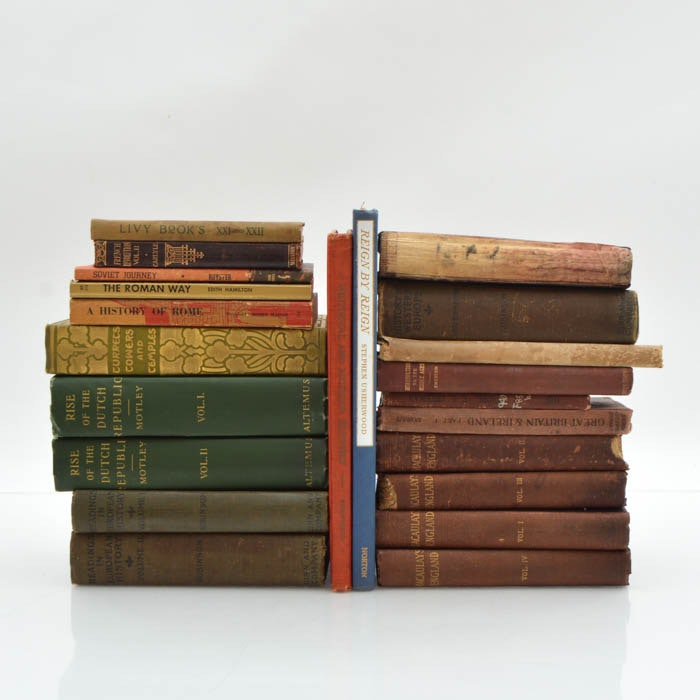 Large Assortment of Antique and Vintage European History
