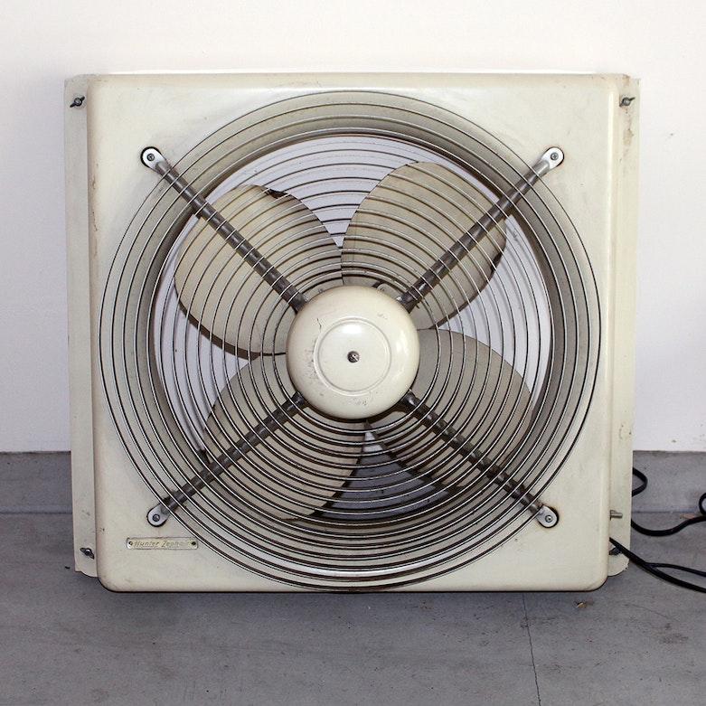 Vintage modine ice fan room cooler metal fan ebth for 18 window fans