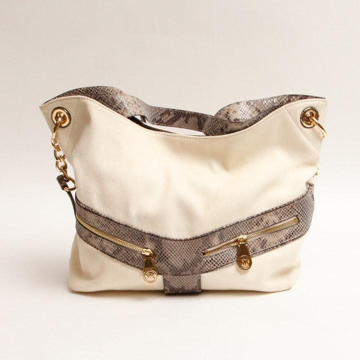 MICHAEL Michael Kors Snakeskin Style Handbag