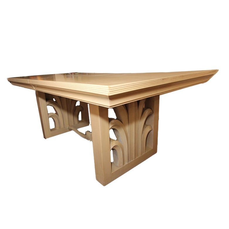 Art Deco Wooden Dining Table