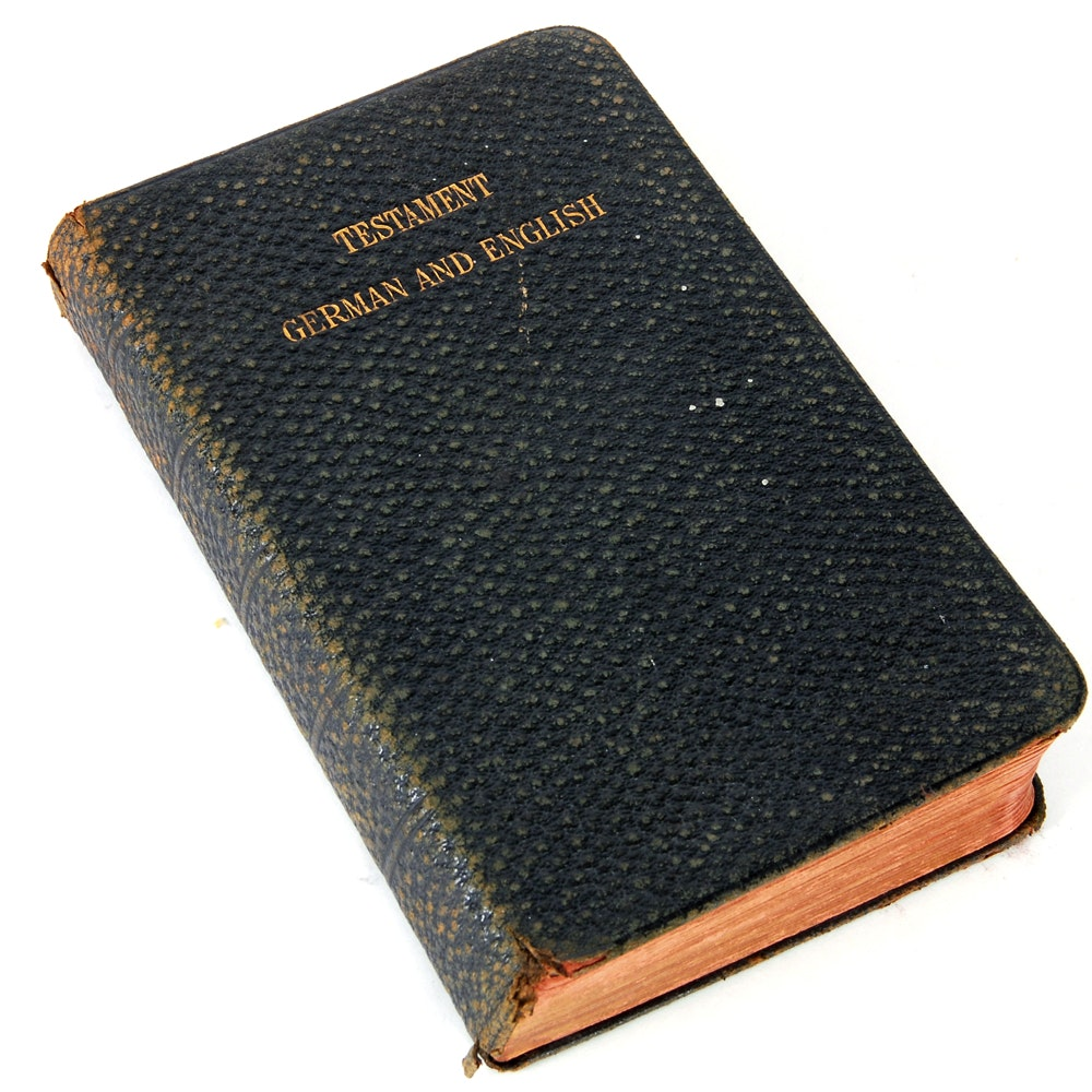 1902 German and English New Testament