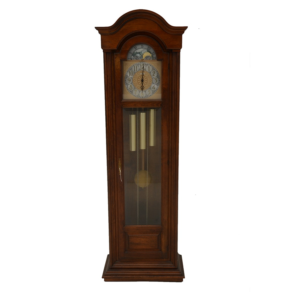 Howard Miller Grandfather Clock With Triple Chime Movement