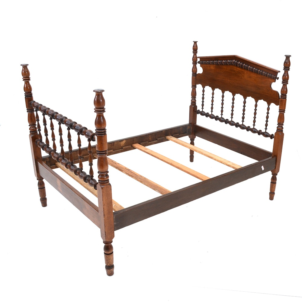 full size spindle bed frame : ebth