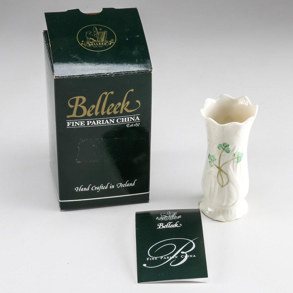 "Belleek Pottery ""Woodland Bud Vase"""