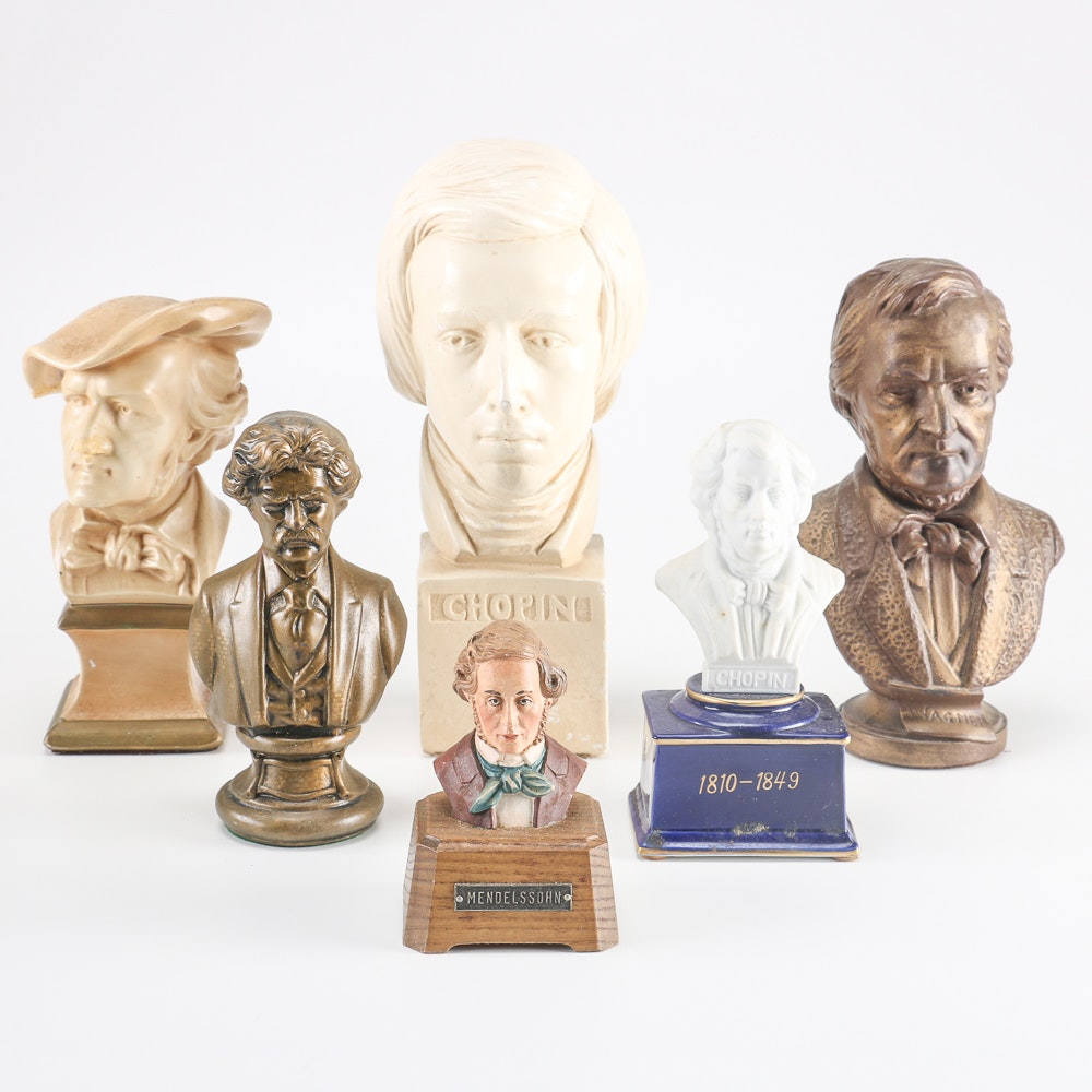 Composer Busts