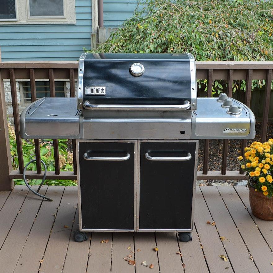 weber genesis special edition gas grill ebth. Black Bedroom Furniture Sets. Home Design Ideas